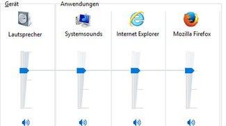 Windows 10: Lautstärke ändern (auch für einzelne Programme) – So geht's