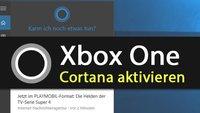Xbox One: Cortana aktivieren – so geht's