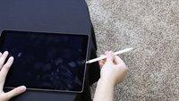 Apple Pencil: So stabil ist der kleine weiße Stift