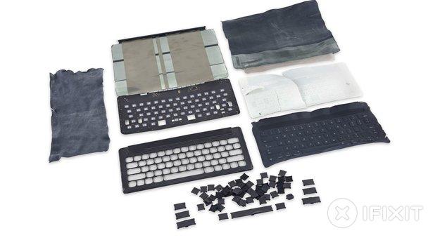 iPad Pro: iFixit schaut Apples Smart Keyboard unter die Tasten