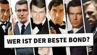 Abstimmung: Wer ist für euch der beste Bond?