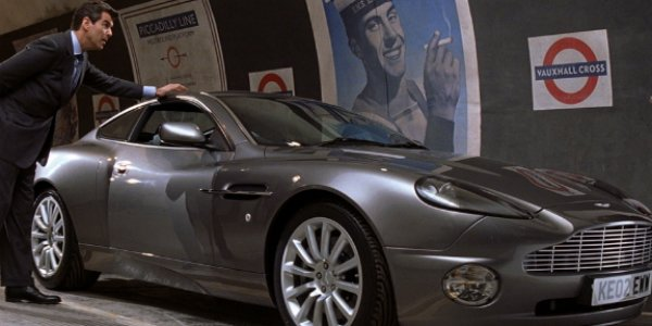 Aston Martin Vanquish James Bond