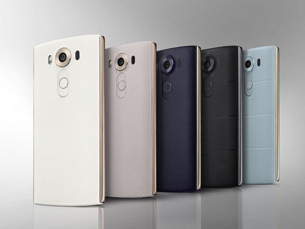 LG V10: High-End-Smartphone mit Doppel-Display kommt doch nach Deutschland