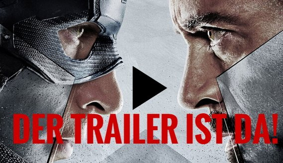 Captain America 3 - Civil War: International Trailer mit neuen Szenen!