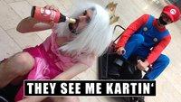 Das ist Mario Kart im Real Life: Die Crazy Carts rocken die Piste!