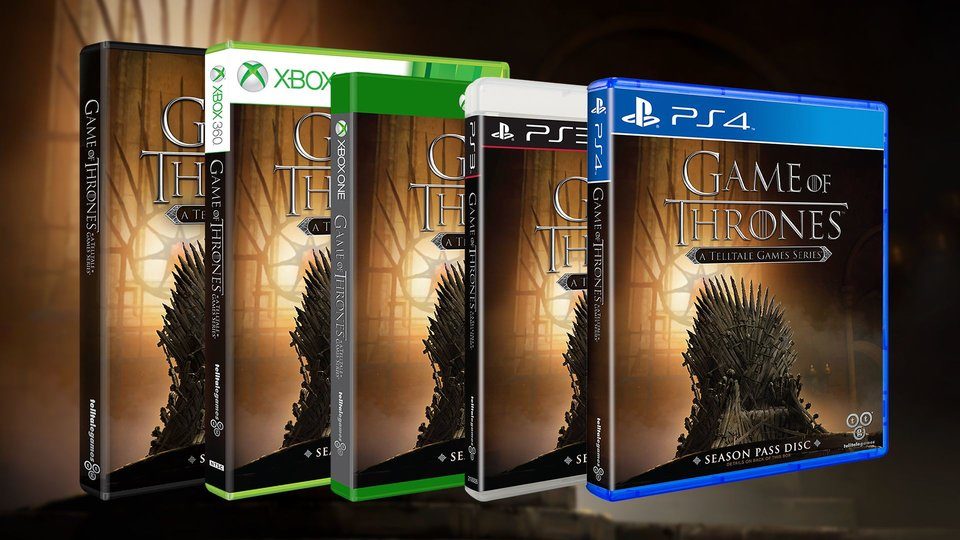 Game of Thrones Packshot Telltale