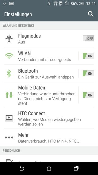 HTC-One-A9-04-Screenshot-Einstellungen