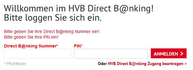 Hvbde Login Direct Bank