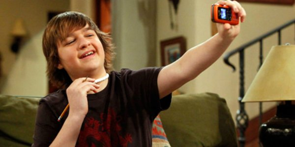 Angus T. Jones als Jake in Two and a Half Men