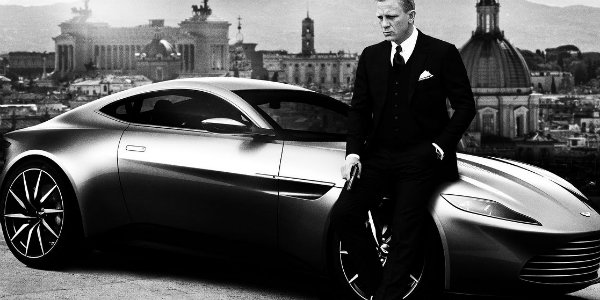 James Bond Aston Martin DB 10 in Spectre