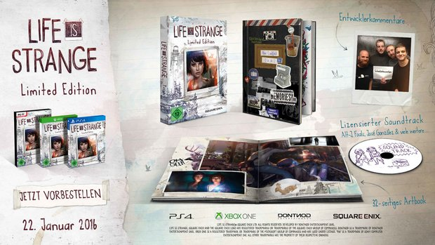 Life is Strange: Trailer und Infos zur schicken Limited Edition