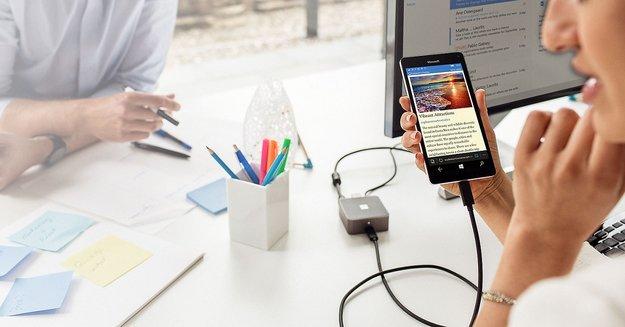 Windows 10 Mobile: Continuum nur mit zwei Prozessoren möglich