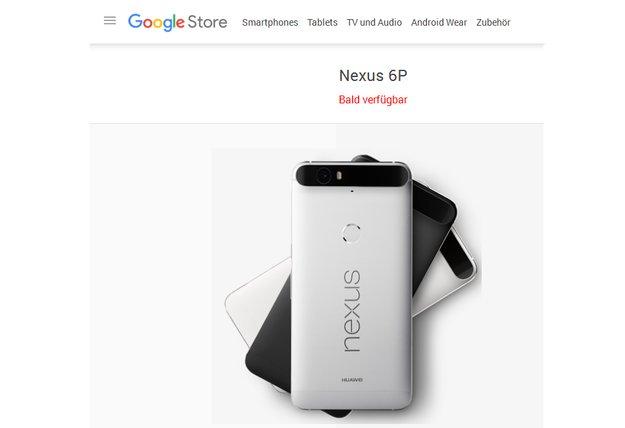 Nexus 6P: Kommt es erst im Dezember in den Verkauf?