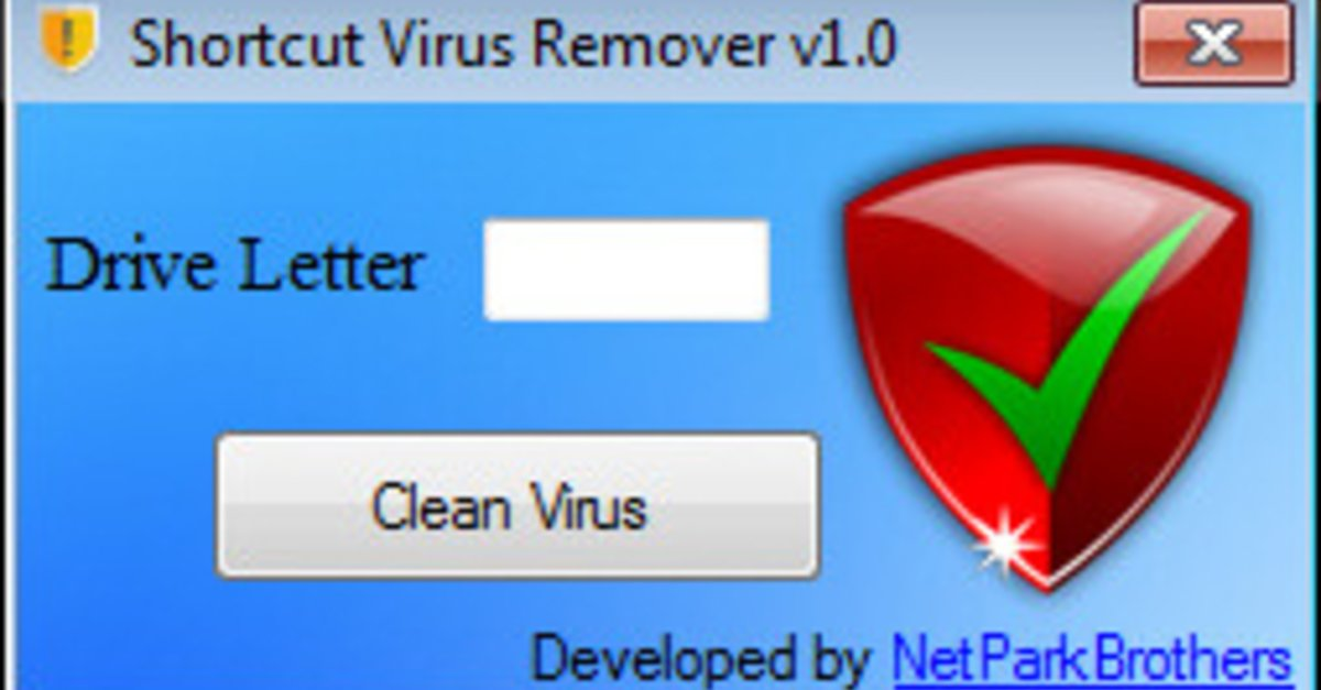 الأداة السحرية لحذف Shortcut Virus Remover