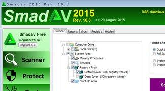 SmadAV – Version 2015 der kostenlosen Antiviren-Software