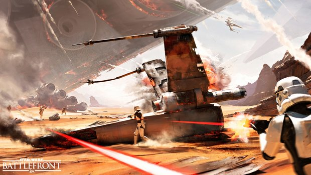 Star Wars Battlefront: Über 500.000 Mal in Deutschland verkauft