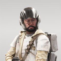 Star Wars Battlefront Rebels unlocked Jin Beard