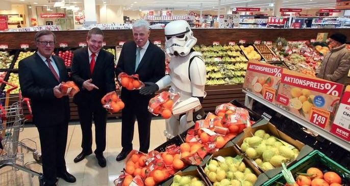 Star Wars Rewe Stormtrooper