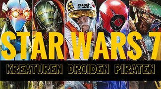 Neue Star Wars 7 Figuren, Kreaturen und Droiden: Die heimlichen Stars des Films und was wir bisher über sie wissen