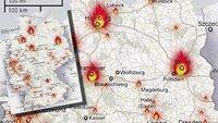 Facebook: IS-Terror-Karte mit Angriffszielen in Deutschland ist Fake