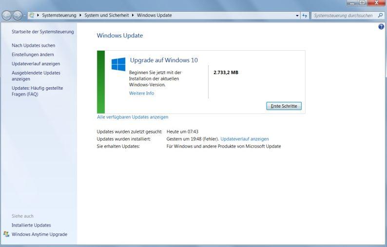 windows wird vorbereitet hängt windows 10