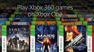 Xbox One: Das sind die ersten 104 aufwärtskompatiblen Spiele!