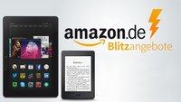 Amazon Fire HD 8 für nur 129,99 Euro und Kindle E-Book-Reader stark reduziert