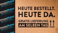 Amazon: Same-Day – Lieferung am gleichen Tag in Deutschland