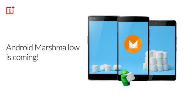 OnePlus: Update auf Android 6.0 Marshmallow für alle Geräte angekündigt