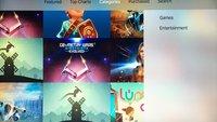 Apple-TV-App Store jetzt mit Kategorien –Hinweise für App-Ordner im tvOS