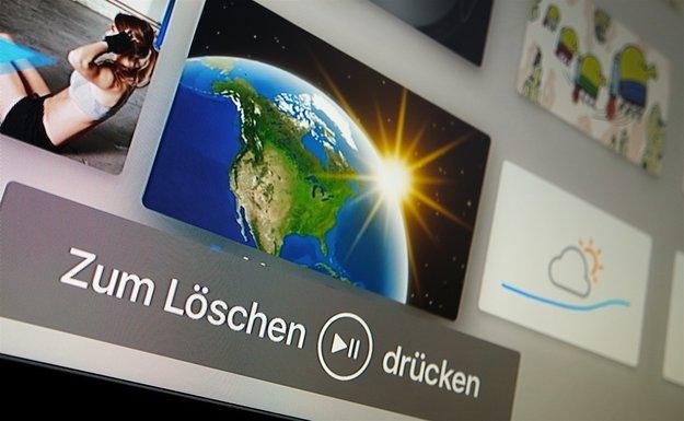 Apps auf Apple TV löschen (Mini-Tipp)