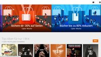 Google Play: Spiele, Musik und Filme stark reduziert