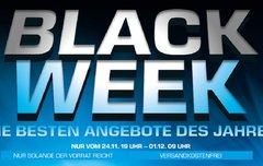 Black Week:<b> Technik-Deals und Gewinnspiel bei Saturn</b></b>