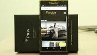 So sieht ein BlackBerry Priv aus 24-karätigem Gold aus