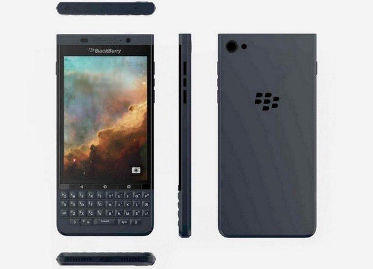 """BlackBerry """"Vienna"""" geleakt – neuer Androide mit Hardware-Tastatur"""