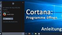 Windows 10: Mit Cortana Programm öffnen – So geht's