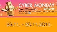 Cyber Monday Woche: Startschuss für die Rabattschlacht bei Amazon