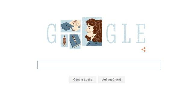 Dorothea Christiane Erxleben: Google Doodle von heute