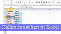 In Excel Zellen tauschen - ganz einfach!