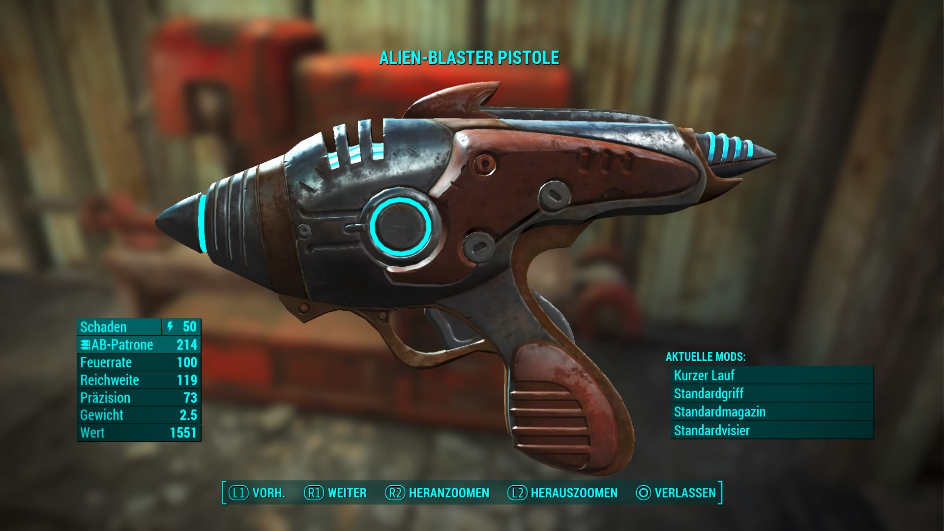 Fallout 4 Wackelpuppen Karte.Fallout 4 Alien Blaster Pistole Fundort Der Einzigartigen