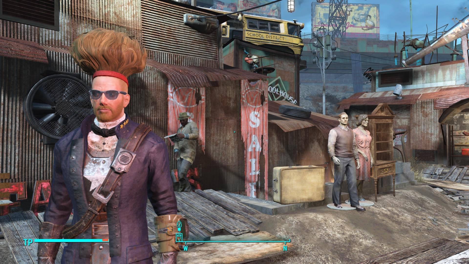 Fallout 4 frisuren hefte