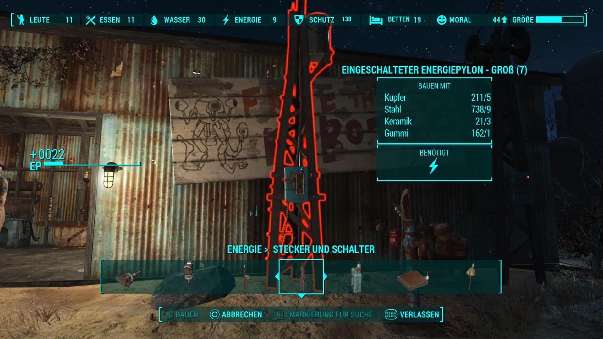 Fallout 4 Siedlungsbau Moral Erhöhen Siedler Zuweisen Und Aufbau