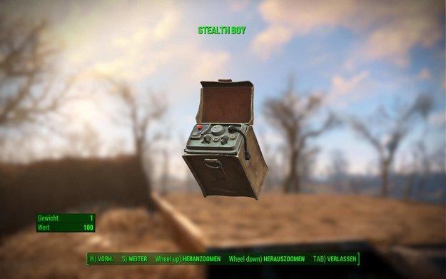 Fallout 4: Stealth Boy – Fundorte und Nutzen des Gadgets