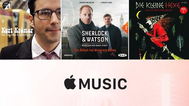 15 Top-Hörbücher in Apple Music