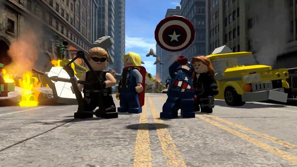 LEGO Marvel Avengers: Alle bekannten Superhelden sind mit von der Partie.
