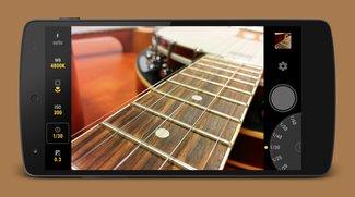 Manual Camera für Android: Kamera-App mit RAW-Aufnahme aktuell für 10 Cent