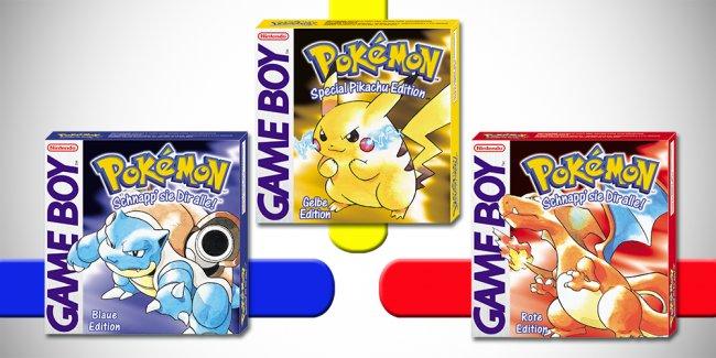 Keine Überraschung: Pokémon Rot, Blau Und Gelb Brechen