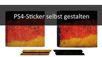 PS4-Skins selber machen: Der eigene Sticker für die Konsole