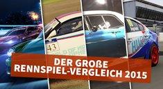 Der große Rennspiel-Vergleich 2015: Welches Game macht das Rennen?