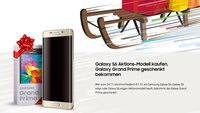 Weihnachtsaktion: Samsung verschenkt Galaxy Grand Prime an Käufer des Galaxy S6, S6 edge oder S6 edge Plus